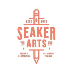 Finally got round to updating my logo. by seaker.arts
