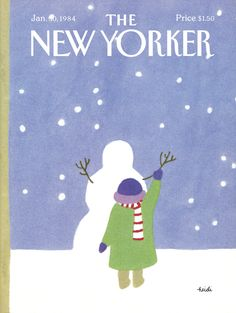 The New Yorker - Monday, January 30, 1984 - Issue # 3076 - Vol. 59 - N° 50 - Cover  by Heidi Gonnel