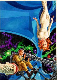 """Hunt the Hog of Joe"" – Ed Emsh – Infinity, Feb 1957"