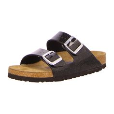 NEU: Birkenstock Pantoletten Arizona - 057633 - magic galaxy black -