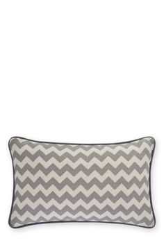 Buy Zig Zag Grey Print Cushion from the Next UK online shop