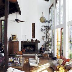 Méchant Design: stunning Tatjana Patitz's ranch