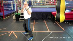 An excellent break down of basic footwork for boxing.
