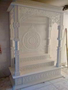 Tv Unit Furniture Design, Tv Unit Interior Design, Home Library Design, Home Room Design, Home Decor Furniture, House Design, 3d Design, Pooja Room Door Design, Ceiling Design Living Room