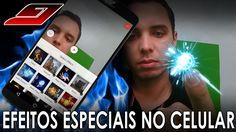 Como colocar EFEITOS ESPECIAIS em vídeos pelo CELULAR   Guajenet
