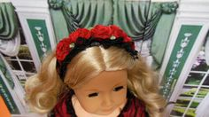 Velvet Roses RESERVED FOR c.h. Regency Dress with by TheDollyDama