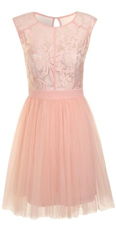 Blush Tulle Dress- maybe for photos