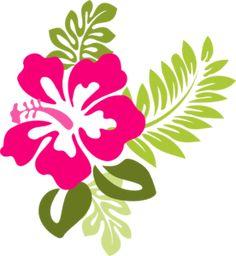 hawaiian clip art free downloads clipart panda free clipart rh pinterest com Small Flower Clip Art Free Cartoon Flower Images Free