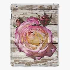 Shabby Chic Pink, Watercolor Rose, Ipad Case, My Arts, Art Prints, Art Print