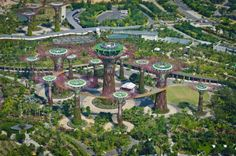 Solar powered gardens