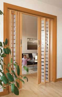 45 best interior sliding doors design ideas to inspire you page 39 – JANDAJOSS. Partition Door, Room Divider Doors, Sliding Room Dividers, Living Room Partition Design, Room Partition Designs, Interior Door, Home Interior Design, Bathroom Interior, Interior Decorating