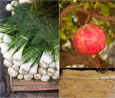 David Lebovitz. Post about Sicily. fennel and pomegranate | Flickr - Photo Sharing!