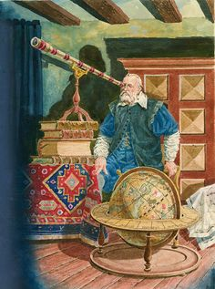 Galileo (Original) art by Peter Jackson