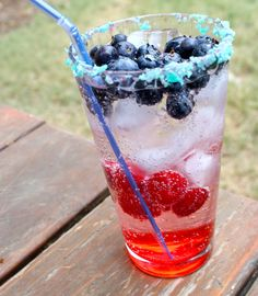 Add some fireworks to your 4th of July cocktails.