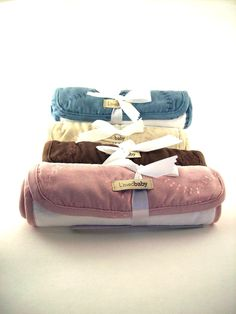 L'oved Baby Plush Burp Cloths