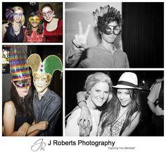 Masquerade masks at 21st birthday party sydney