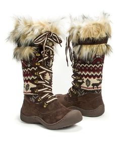 Look what I found on #zulily! Dark Brown Gwen Boot by MUK LUKS #zulilyfinds