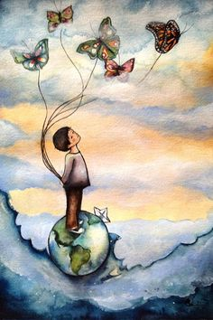 my little prince art print - Claudia Tremblay Art And Illustration, Illustrations, Claudia Tremblay, Art Beat, The Little Prince, Fine Art Paper, Female Art, Art Journals, Watercolor Paintings