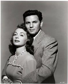 Lili Palmer et John Garfield