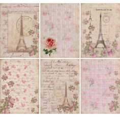 Beautiful Paris printables