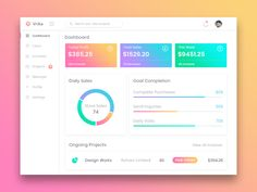 Vrika Dashboard - White Version