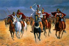 Alexander at Arbela, Plain of Gaugamela, Iraq, 331BC- by David Pentland