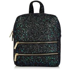 Molly Bug Glitter Backpack by Skinnydip ($39) ❤ liked on Polyvore featuring bags, backpacks, plastic backpack, backpack bags, glitter bag, glitter backpack and knapsack bag