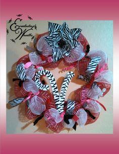 Custom Valentine's Day wreath  www.facebook.com/everlastingwreaths www.etsy.com/shop/everlastingwreaths1