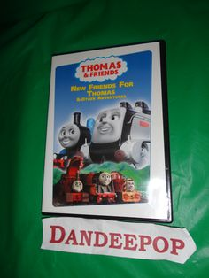 Thomas The Tank Engine Thomas & Friends New Friends For Thomas & other Adventures DVD Movie 2004 find me at www.dandeepop.com