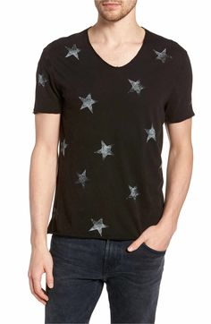 John Varvatos Star USA Regular Fit Crewneck T-Shirt