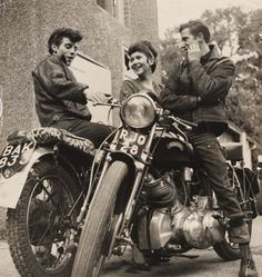 Rockers and Greasers. 1950s-60s