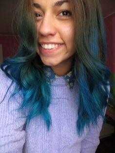 Blue Hair, color hair