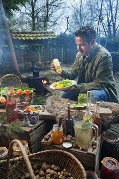Edwin Floris kookworkshop Het Verboden Landschap eten. G.A.N.G