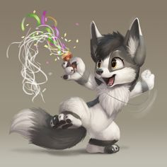 Happy New Year! by Silverfox5213.deviantart.com on @DeviantArt