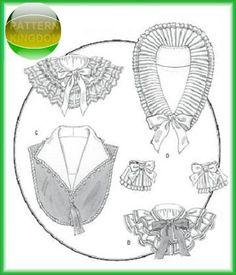 Butterick 5062 Historic Victorian Collars & Cuffs Patterns