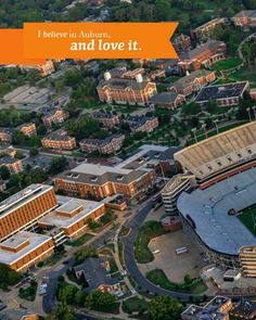 Auburn University. Some of the best years of my life were while at Auburn