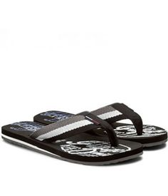 Papuci Plaja Tommy Hilfiger Tommy Hilfiger, Mai, Flip Flops, Sandals, Shoes, Fashion, Moda, Shoes Sandals, Zapatos