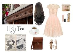 """""""Afternoon tea"""" by me1ody ❤ liked on Polyvore featuring Chi Chi, LE VIAN, Gap, Yves Saint Laurent, Anastasia Beverly Hills and Mulberry"""