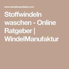 Stoffwindeln waschen - Online Ratgeber | WindelManufaktur