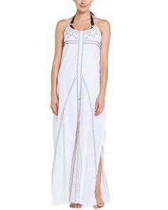 "Spotted this ViX ""Audrey"" Solid White Embroidered Maxi Dress on Rue La La. Shop (quickly!)."