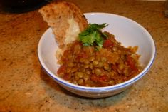Lentil Curry (Mild) Easy, healthy and delicious-- a great alternative to rice and beans!