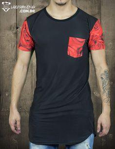 Quer camiseta irada? Então pega essa Oversized Rosas Vermelhas!🌹      Demais, né? Só clicar e levar 👉goo.gl/QQnyhh