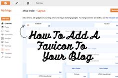 Blogging 101: How To Create A Favicon