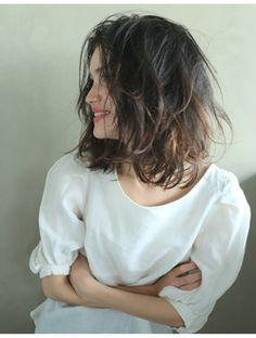 ナヌーク シブヤ(nanuk shibuya) 【nanuk】インナーカラーで黒髪をセンス良く楽しむ◇ミディアム Good Hair Day, Hair Designs, Healthy Hair, Cool Hairstyles, Hair Color, Make Up, Hair Styles, Pretty, Shallow