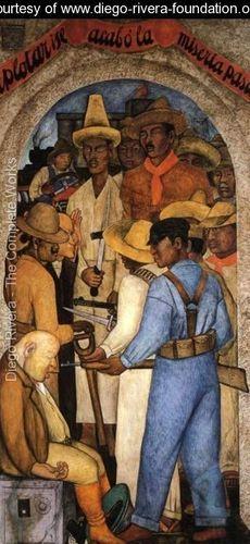 Death of the Capitalist 1928 - Diego Rivera - www.diego-rivera-foundation.org