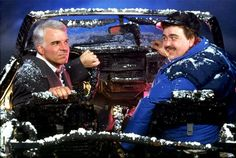 """Steve Martin and John Candy in John Hughes' Planes, Trains, and Automobiles"""""""