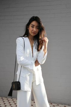A visit to the National Academy of Beauty located in the heart of Melbourne CBD. Jewels Clothing, Lace Pants, White Suits, Fashion Labels, Suits You, Designing Women, Passion For Fashion, Wardrobe Staples, My Style