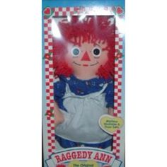 Raggedy Ann -- I had one of these it was my FAVORITE doll! :o)