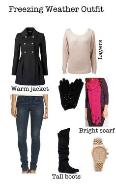 Freezing weather outfit