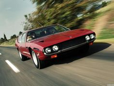 Lamborghini Espada 400 gte 1972.  One of my all-time favorites as it is a true four seater.  A practical family exotic car.